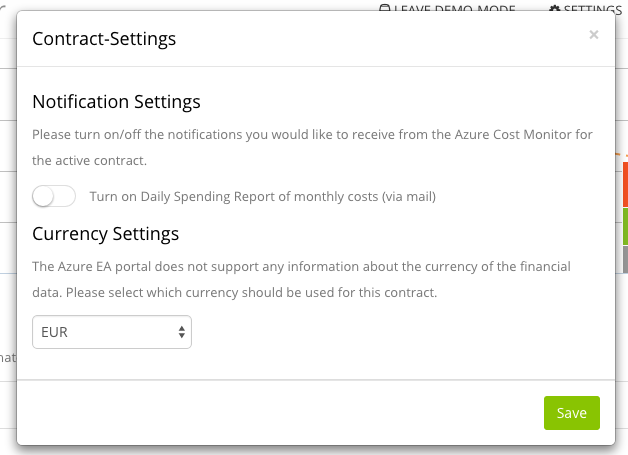 Manage costs in your local currency – Azure Cost Monitor supports